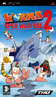 Worms: Open Warfare 2 /ENG/ [ISO] PSP