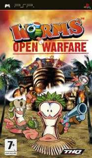 Worms: Open Warfare /RUS, ENG/ [ISO, CSO] PSP