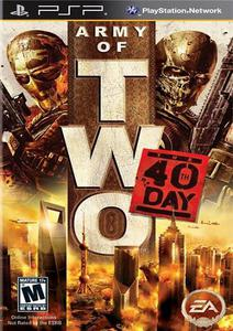Army of Two: The 40th Day (Patched)[FullRIP][CSO][RUS] PSP