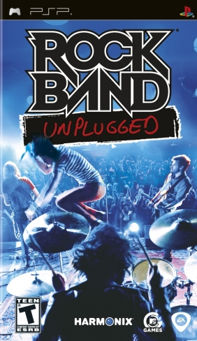 Rock Band Unplugged [2009,Simulator] PSP