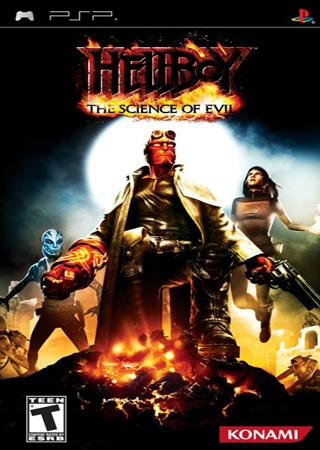 Hellboy: The science of evil (2008) PSP