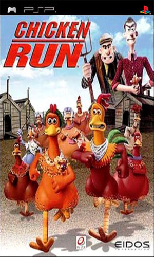 Chicken Run [RUS] PSP