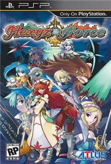 Hexyz Force (Patched) [2010/FullRIP/ENG] PSP
