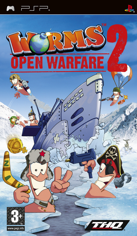 Worms - Open Warfare 2 (RUS) [PSP]