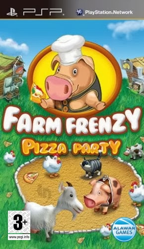 Farm Frenzy - Pizza Party (RUS) [PSP]