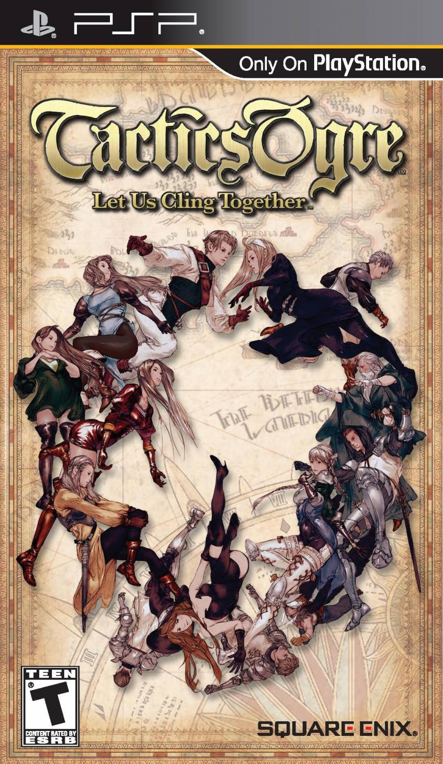 Tactics Ogre - Let Us Cling Together (ENG) [PSP]
