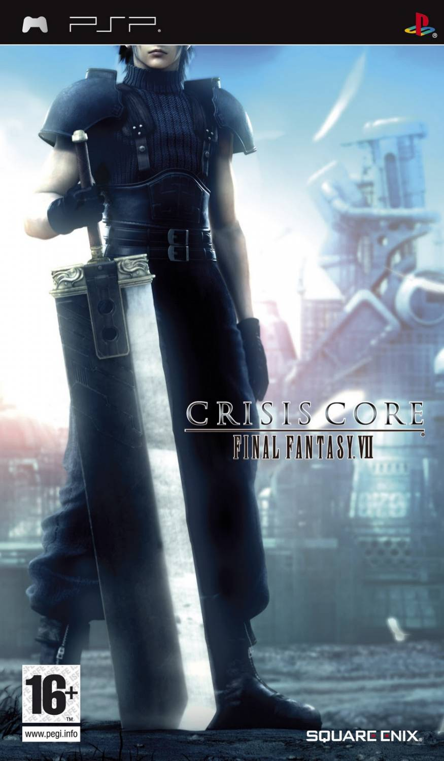 Final Fantasy VII - Crisis Core (RUS) [PSP]