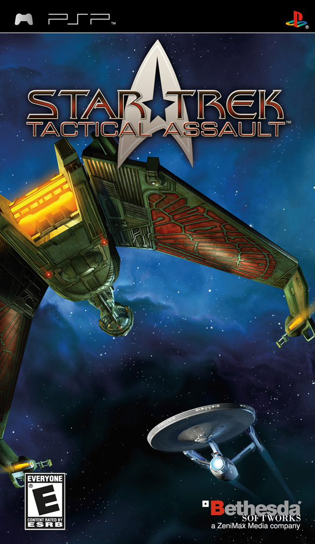 Star Trek - Tactical Assault (RUS) [PSP]