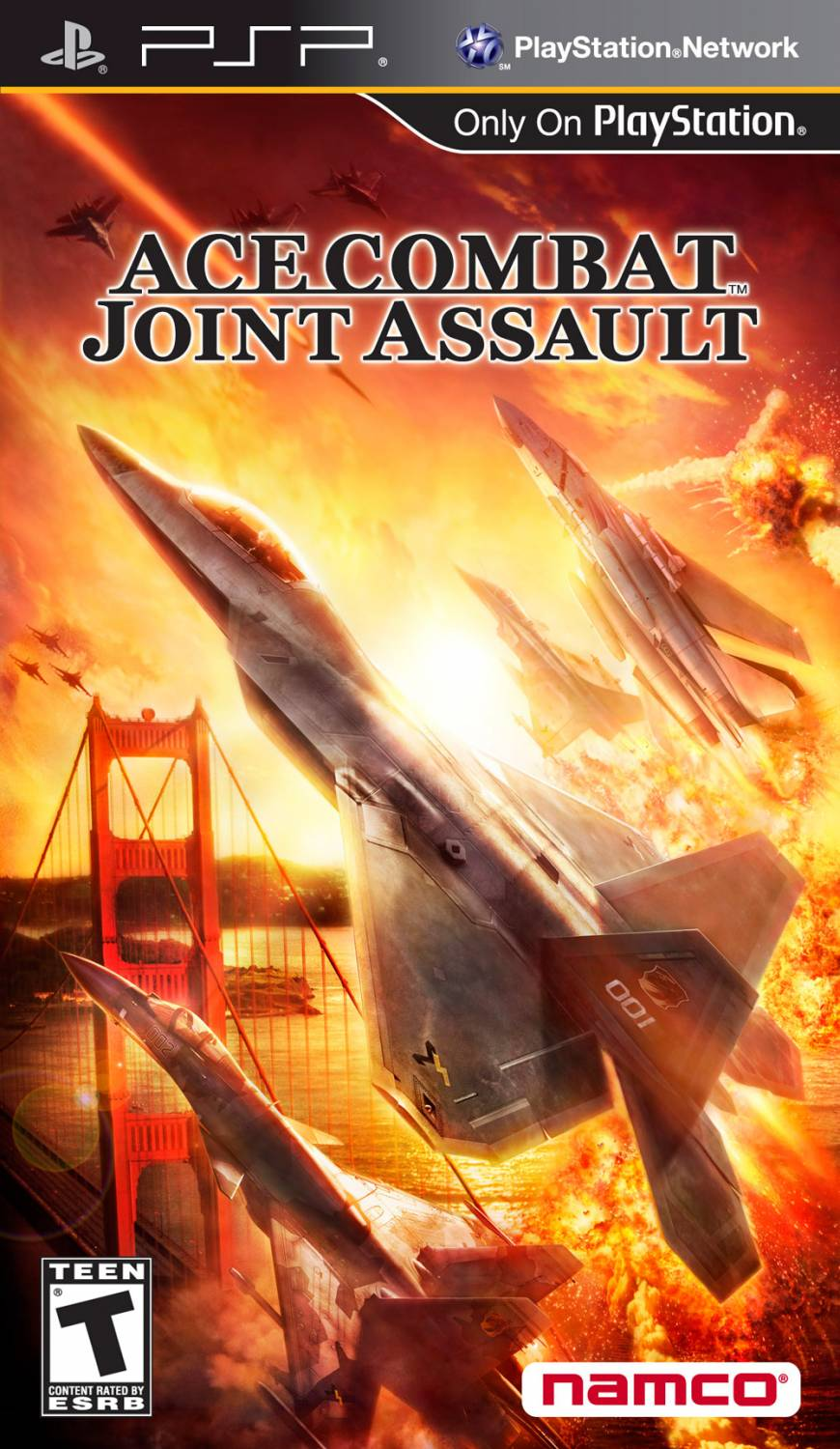 Ace Combat - Joint Assault (ENG) [PSP]