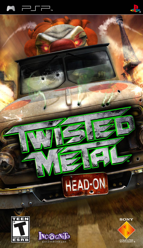 Twisted Metal - Head-On (ENG) [PSP]