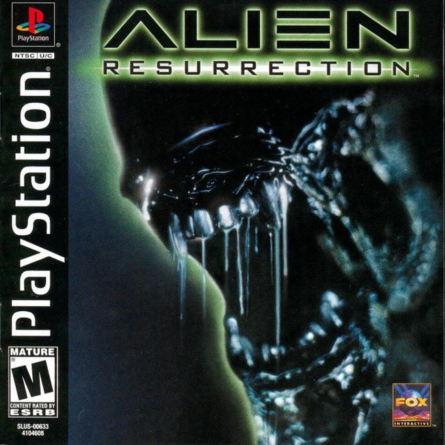 Alien Resurrection (rus) (Paradox) (SLUS-00633)
