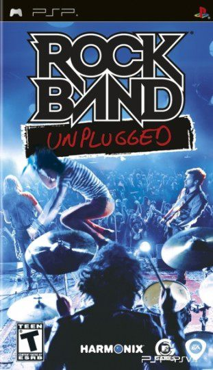 Rock Band Unplugged (2009) PSP