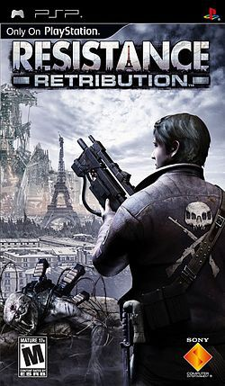 Resistance: Retribution (2009) [RUS] PSP