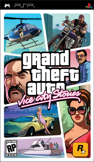 [PSP] GTA Vice City (2008) RUS