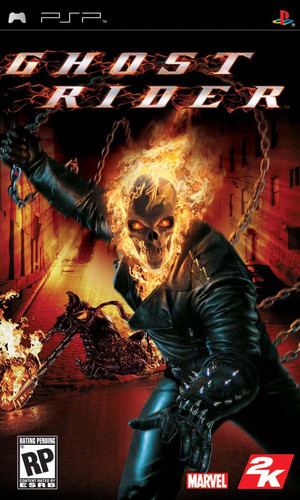 Ghost Rider (2007) PSP