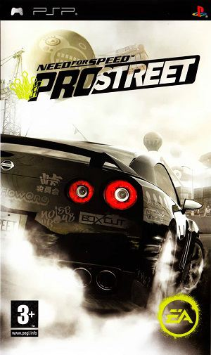 Need for Speed: ProStreet (2008) PSP