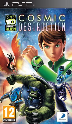 Ben 10 Ultimate Alien: Cosmic Destruction (2010) PSP