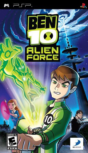 Ben 10: Alien Force (2008) PSP