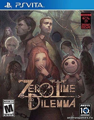 Zero Escape: Zero Time Dilemma (2016/RUS) PSVITA