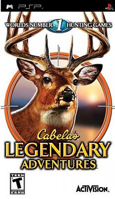 Cabela's Legendary Adventures [ENG] PSP